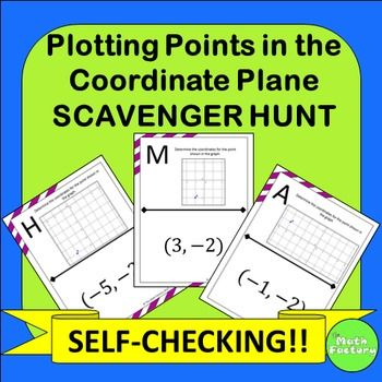 : Plotting points made fun! Instead of doing another boring worksheet ...