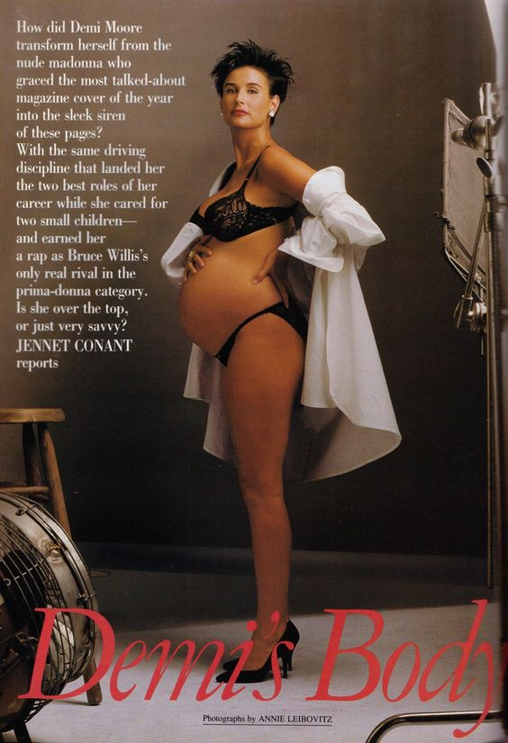 Demi Moore Pregnant Pics 3