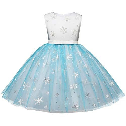 LNGRY Cute Toddler Infant Baby Girls Floral Tutu Long Sleeve Princess Dress