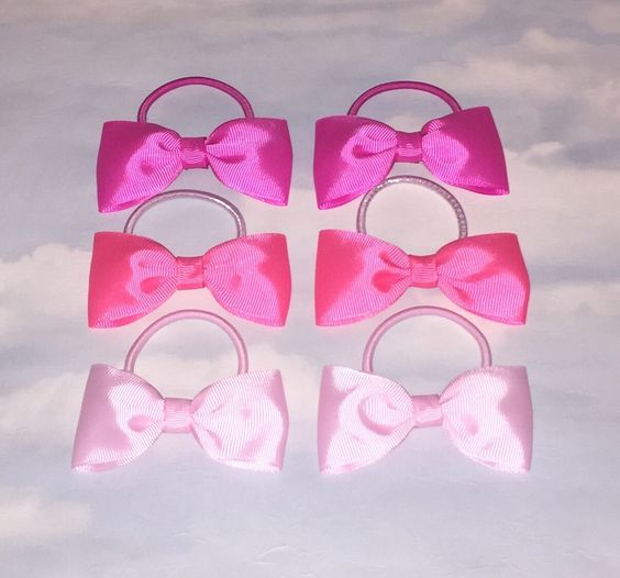 A personal favourite from my Etsy shop https://www.etsy.com/uk/listing/267784192/3-pairs-pretty-pink-bows