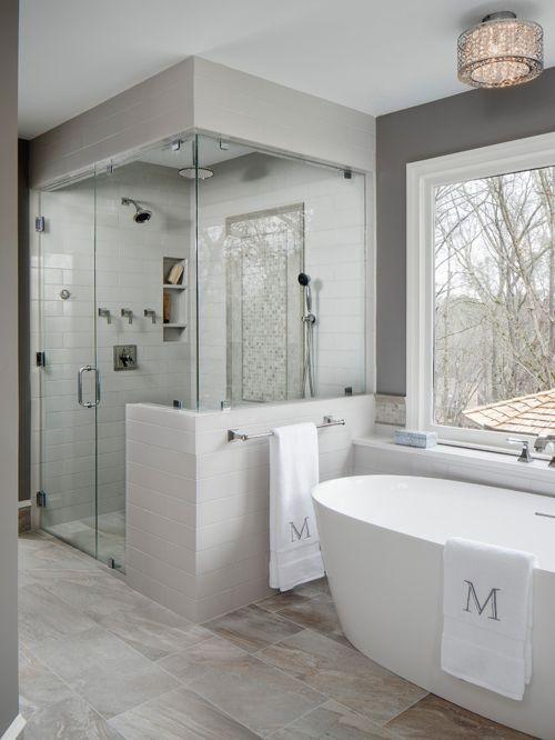 Master Bathroom Walk In Shower Designs Decoracion De Banos
