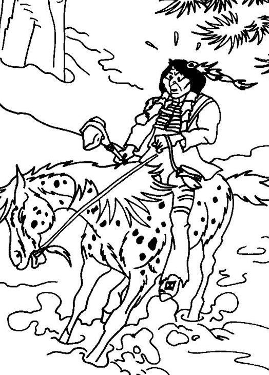 Ausmalbilder Yakari 19842193842394234 E1537396989951 Coloring Pages Colouring Pages Color