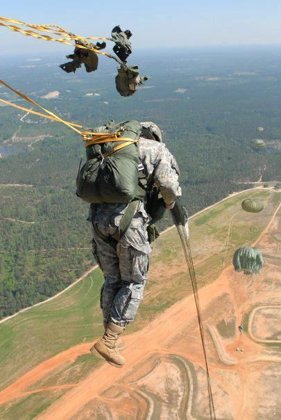 Sicily Drop Zone, Fort Bragg NC...My Adrian jumped there and I assisted the paratroopers with their parachutes and reserves.