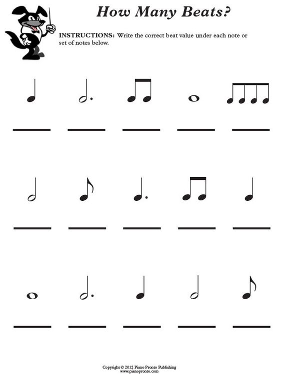 Printables Printable Music Theory Worksheets piano method books and printable sheet music for all ages levels free theory worksheet pronto