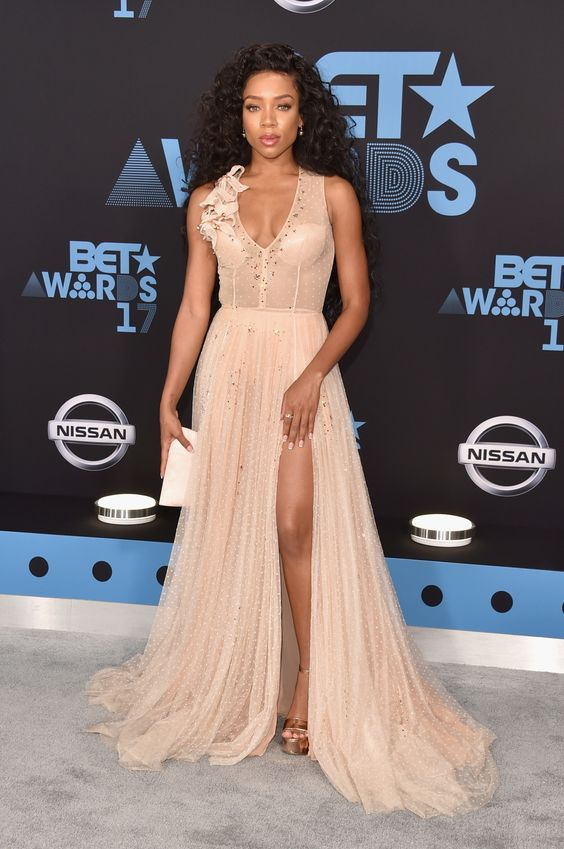 2017 bet awards red carpet, fashion, famous, celeb, dresses