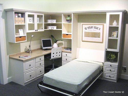 Home Office W Murphy Bed W Cabinet Murphy Bed Office Murphy