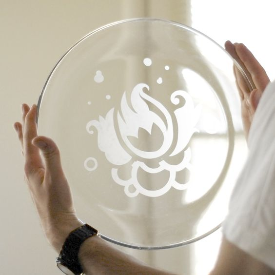 How to etch glass yourself- Try on casserole dishes