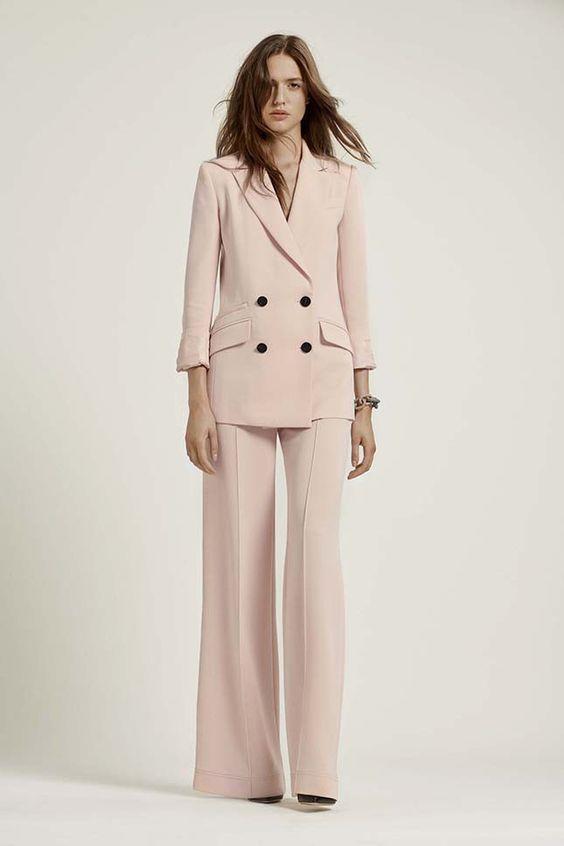 Цвет пудры — главный тренд весенних показов в Нью-Йорке | Мода | Тенденции | VOGUE