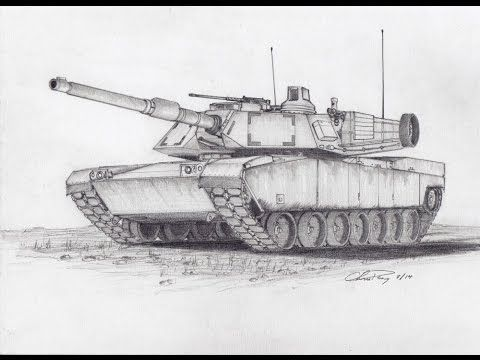 How To Draw A M1 Abrams Tank Youtube Military Drawings Army Drawing Tank Drawing