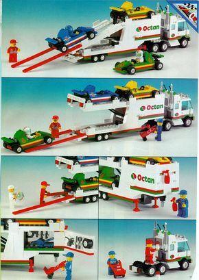 C52 Lego 6670 Dépanneuse Rescue Rig Town City complet de 1993