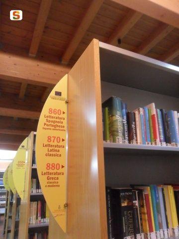 Segnaletica in biblioteca