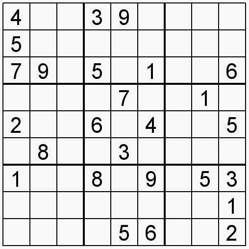 Pasatiempos para Imprimir Sudoku n 111  SUDOKU  Pinterest