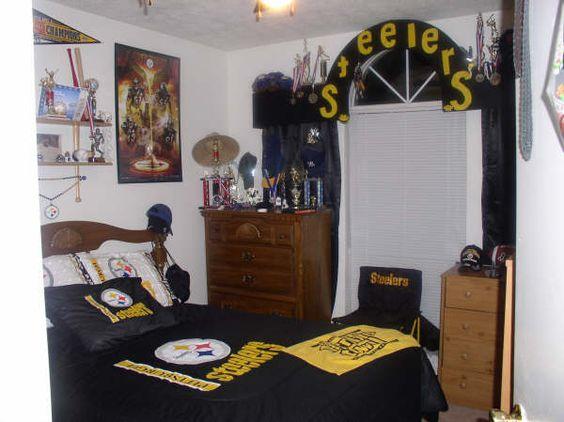 449 pixels pittsburgh steelers bedroom decor pinterest bedrooms