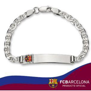 Esclava de plata del Real madrid/Pulseras de plata Producto oficial www.relojesplatayacero.com