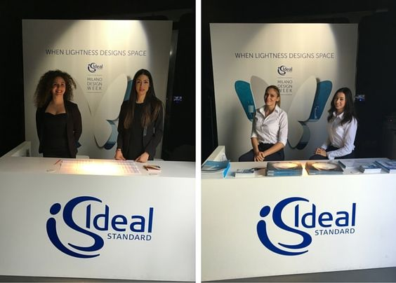 Milan Design Week - Hospitality hostesses for Ideal Standard | BeA ...