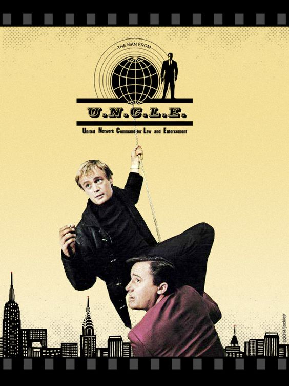 The Man From Uncle Collage by Jackiejr #themanfromuncle #illyakuryakin  #napoleonsolo