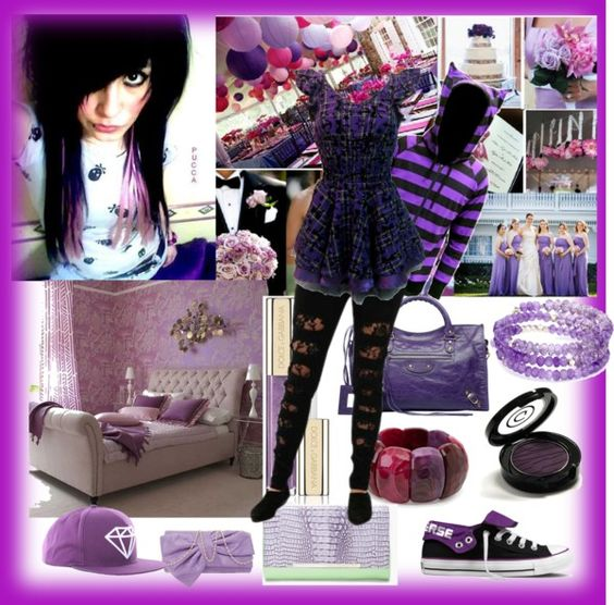 """purple"" by blacksilk ❤ liked on Polyvore"