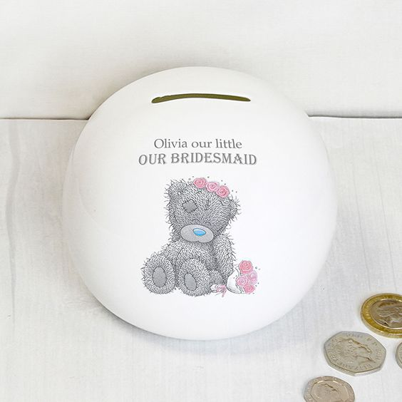 Me To You Girls Wedding Money Box | Bridesmaid & Flower Girl Gifts