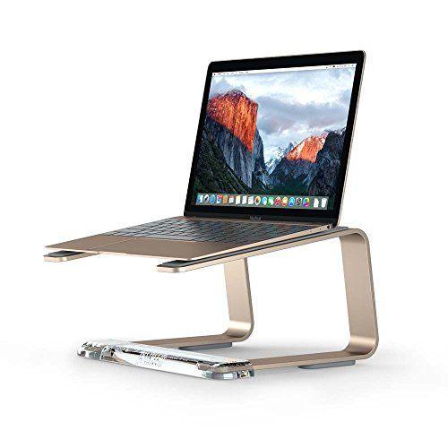Griffin Elevator Desktop Stand for Laptops, Gold - Elegan…