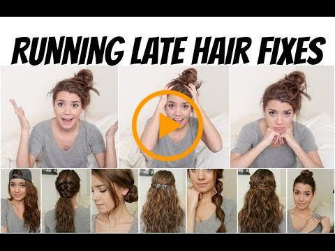 Last Minute Curls For A Busy Woman Www Ladylifehacks Pretty Hairstyles Easy Haircut Styles For Women Hair Fixing