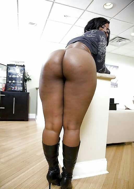 Big soft black ass