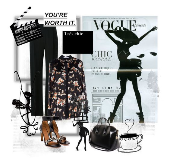 """Work it girl, you`re worth it."" by katiekachina ❤ liked on Polyvore"