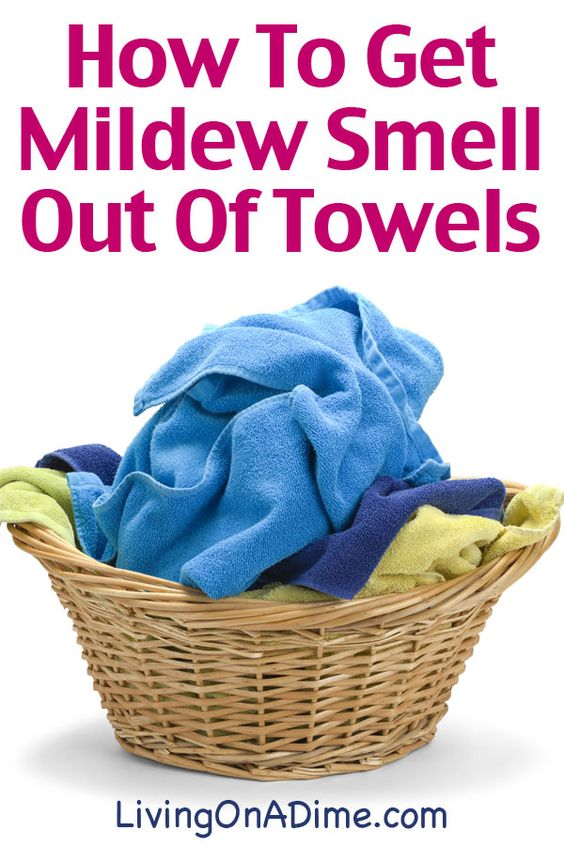 how to get mildew out of clothes with vinegar