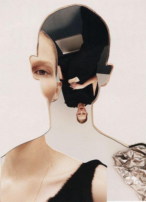 Fotografo ed artista, Pablo Thecuadro, realizza dei collage astratti con una giusta dose di surreale.