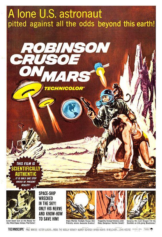 50s sci fi movie posters | Sci Fi Movie Poster Print - 13x19 - Home Theater Decor - Vintage Movie ...