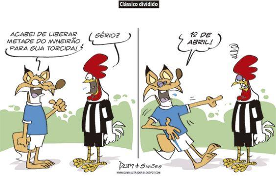Charge Do Dum Zona Do Agriao Sobre Classico Entre Cruzeiro E Atletico