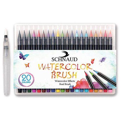 Schnaud Pinselstifte Brush Pen Set Pinselstiftebuch E Book
