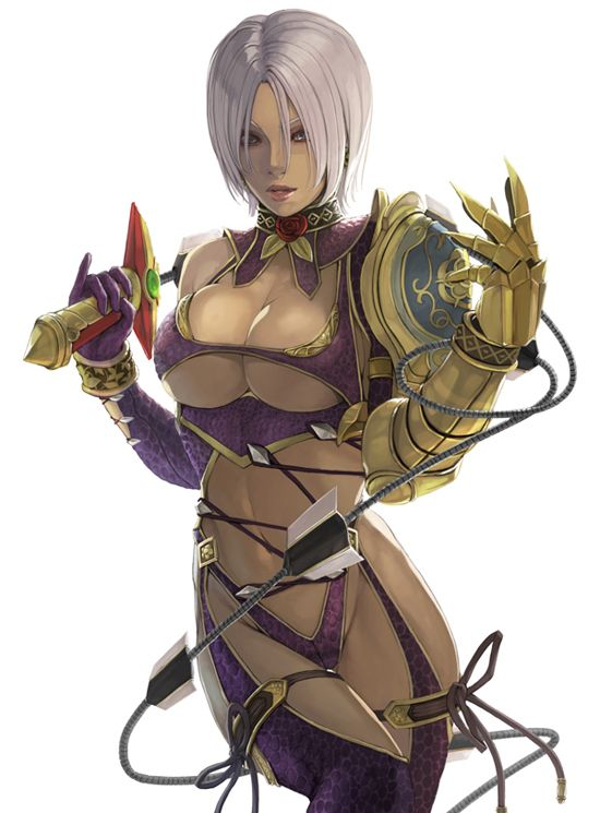 Soul Calibur Ivy By Kk Soul Calibur Pinterest Gaming Video Games And Anime    Isabella Valentine