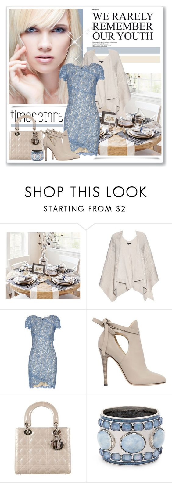 """TS"" by stranjakivana ❤ liked on Polyvore featuring rag & bone, Lover, Jimmy Choo, Christian Dior and Chico's"