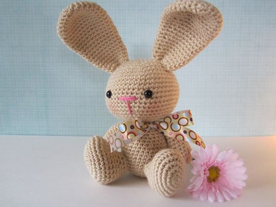 Amigurumi To Go Easter Egg Bunny : Easter Bunny Plush, Stuffed Animal, Crochet Stuffed Bunny ...