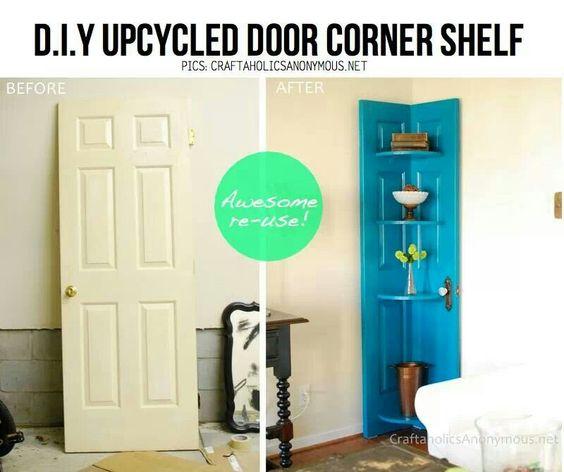 #diy #cornershelf #interiot