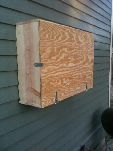 Outdoor Tv Cabinet Made Of Cedar Pinteres