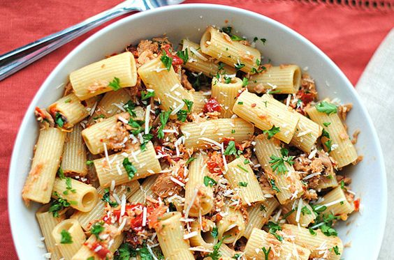 tuna pasta healthy pastas tomatoes sun dried tomatoes classic penne ...