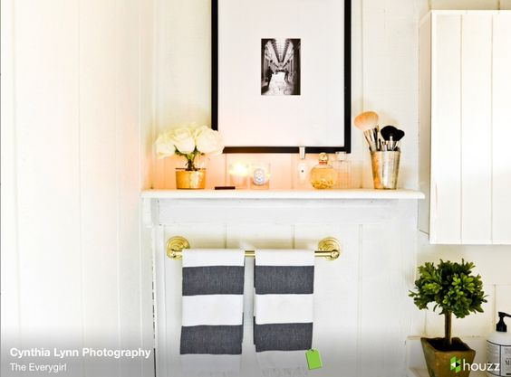 Bathroom accessorizing for the home pinterest Accessorizing a small bathroom