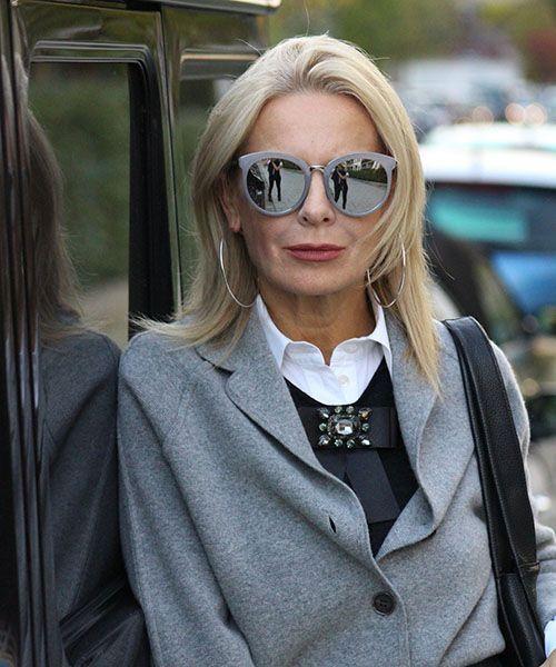 Невероятно элегантные образы для женщин 45+   Новости моды #fashionoutfitsover50pants