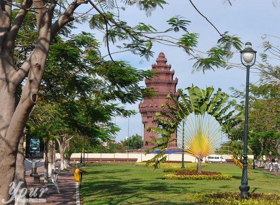 Tượng đài độc lập Phnom Penh là một địa điểm du lịch hút khách