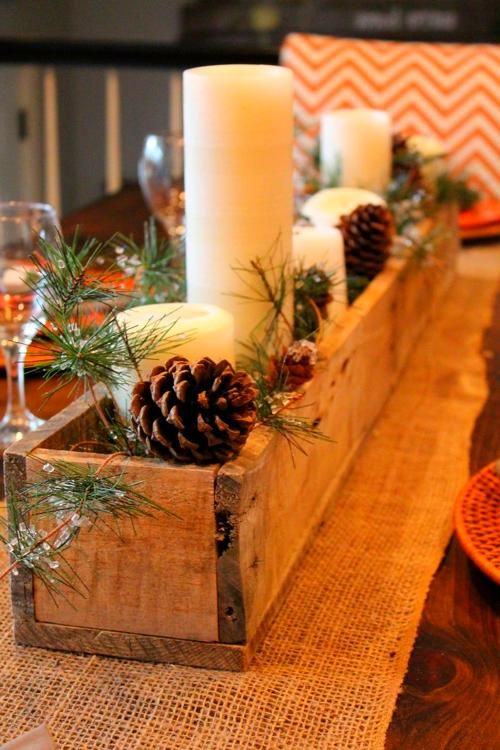 Diy Christmas Decorations Winter Table Decorations Christmas Decor Diy Christmas Table Decorations