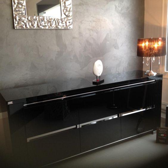 Buffet italien laqué STATUS. Boutique mobilier contemporain
