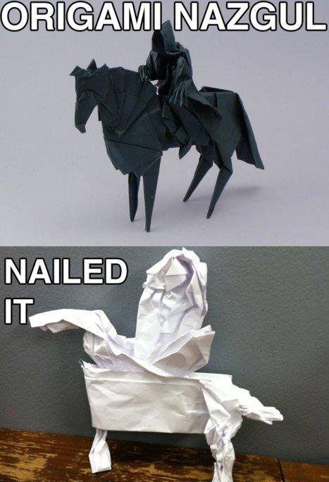 Nailed it!