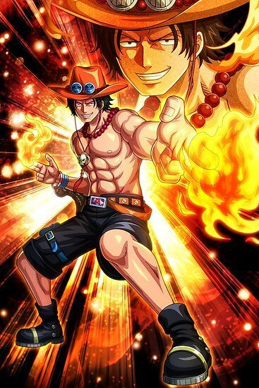 Ace One Piece Poster By Onepiecetreasure Displate Manga Anime One Piece One Piece Drawing One Piece World Ace in one piece wallpaper