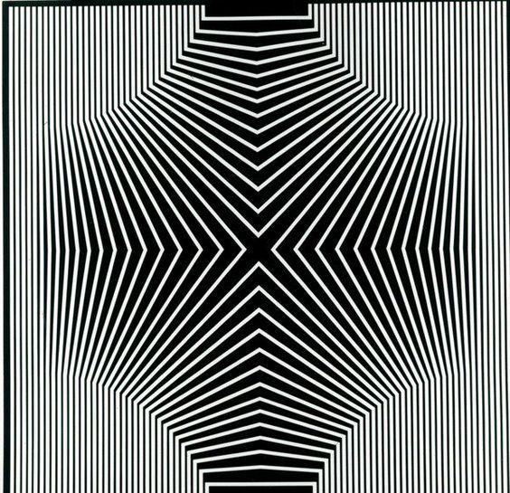 Franco Grignani, Negativo, Positivo sensoriale, 1965