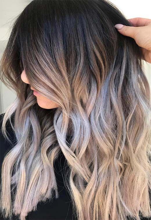53 Lindas Cores De Cabelo De Verao Tendencias E Dicas Summer Hair Color Summer Hairstyles Brunette Hair Color