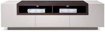 Vig Furniture Modrest TV002 Modern Glossy Grey TV Unit