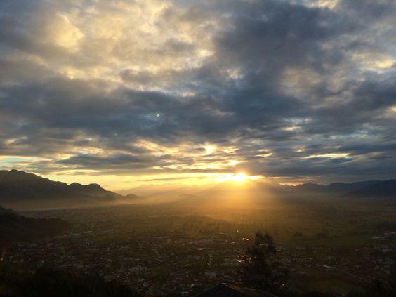 Vorarlberg, Rheintal, Österreich