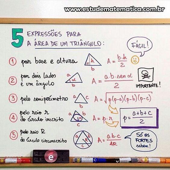Geometriiiiiiia!  Fonte: estudematematica.com  #Matematica #Geometria…