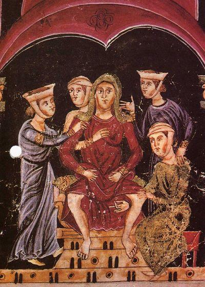 Parto en la Edad Media